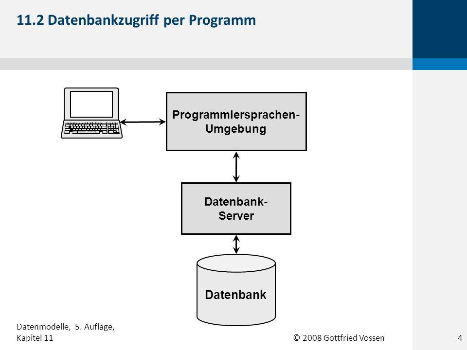 11.2 Datenbankzugriff per Programm