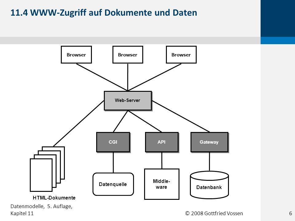 11.4 WWW-Zugriff auf Dokumente und Daten