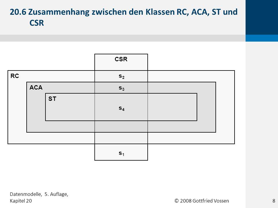 20.6 Zusammenhang zwischen den Klassen RC, ACA, ST und CSR