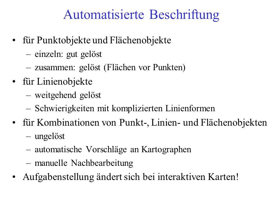 Automatisierte Beschriftung