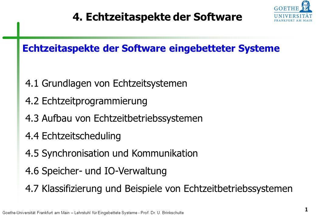 4. Echtzeitaspekte der Software
