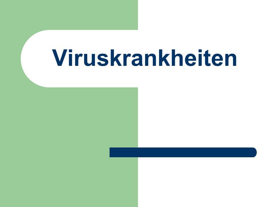 Viruskrankheiten