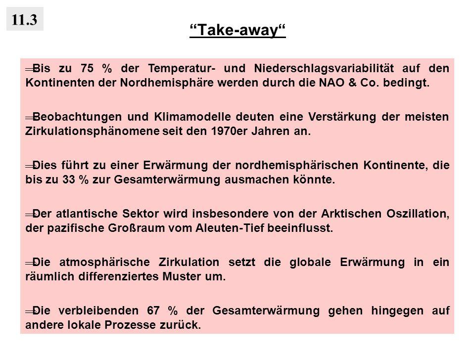 Take-away 11.3.