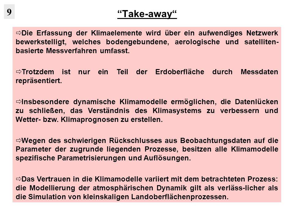 Take-away 9.
