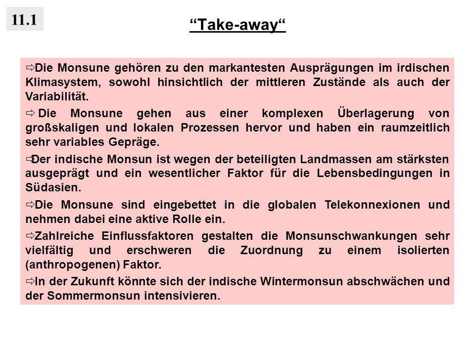 Take-away 11.1.