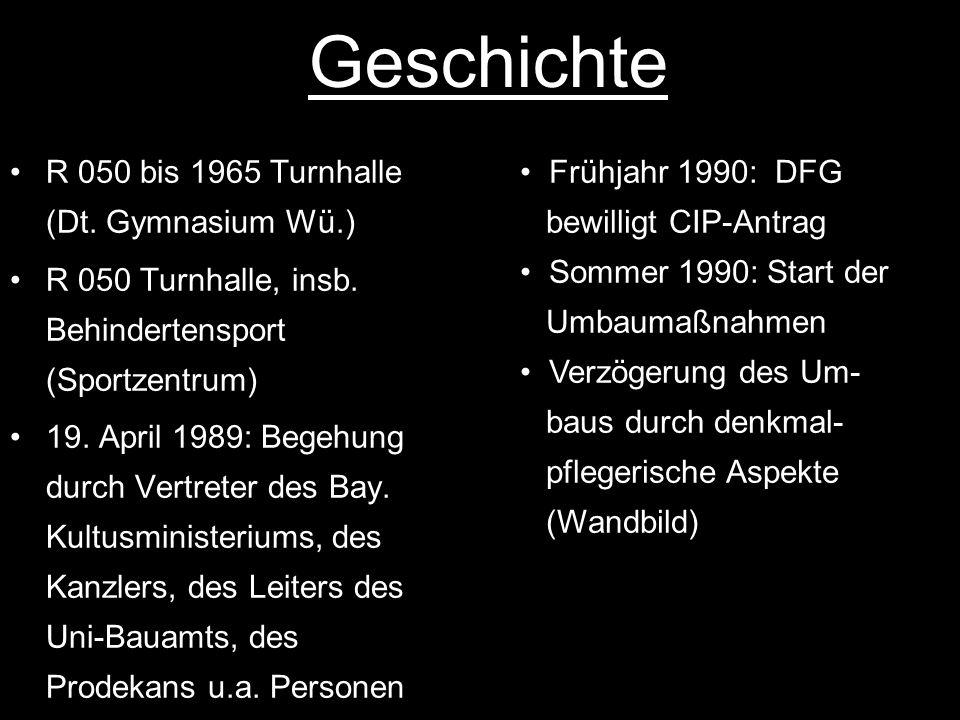 Geschichte R 050 bis 1965 Turnhalle (Dt. Gymnasium Wü.)