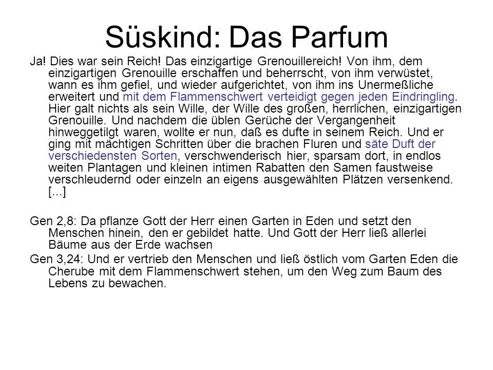 Süskind: Das Parfum