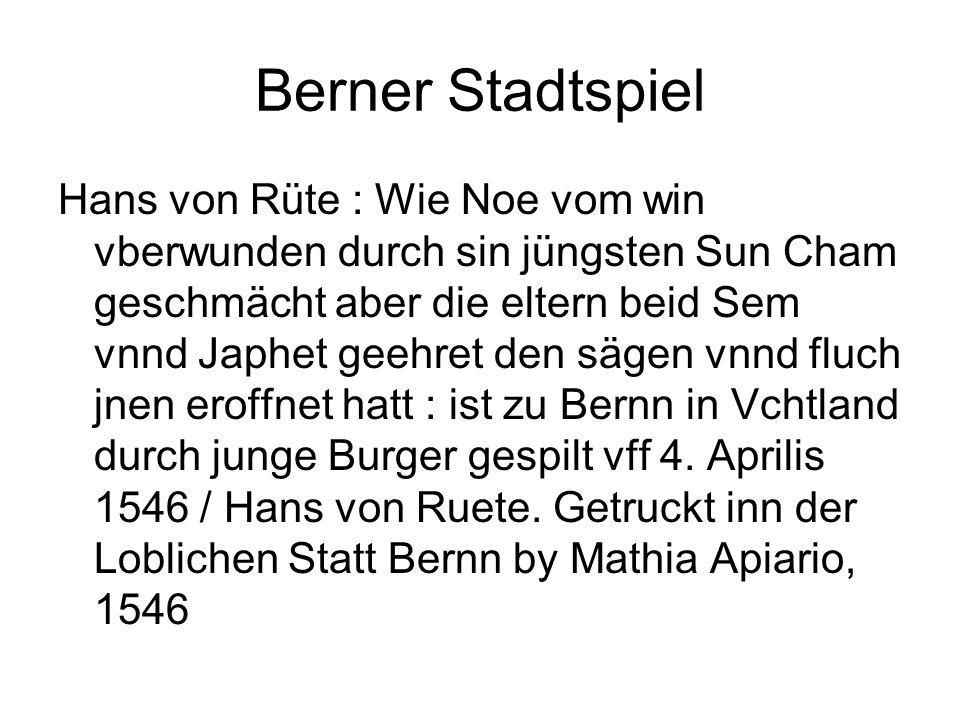 Berner Stadtspiel