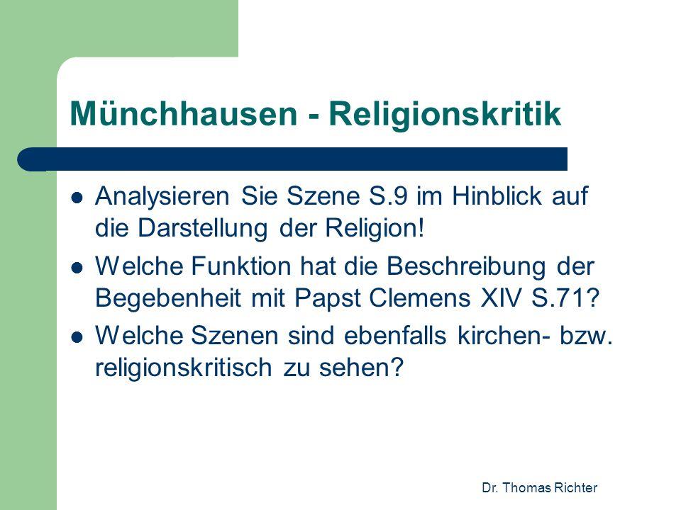 Münchhausen - Religionskritik