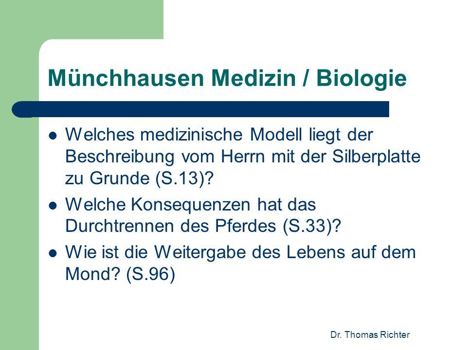 Münchhausen Medizin / Biologie