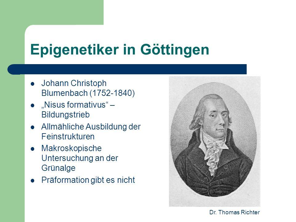 Epigenetiker in Göttingen