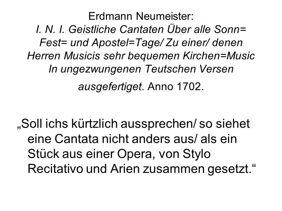 Erdmann Neumeister: I. N. I