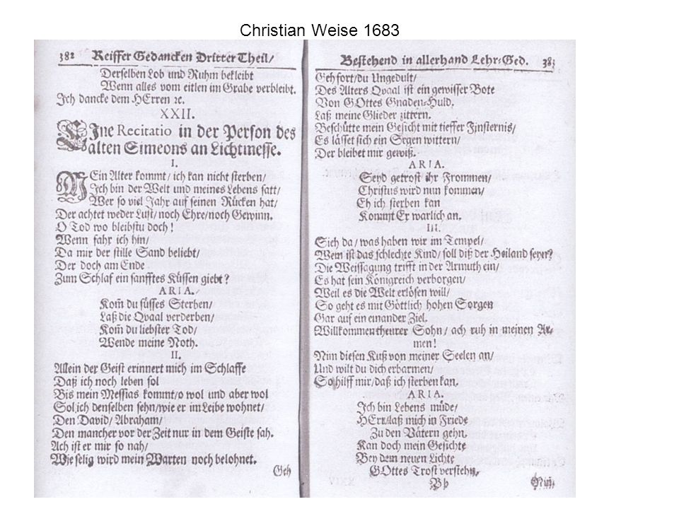 Christian Weise 1683