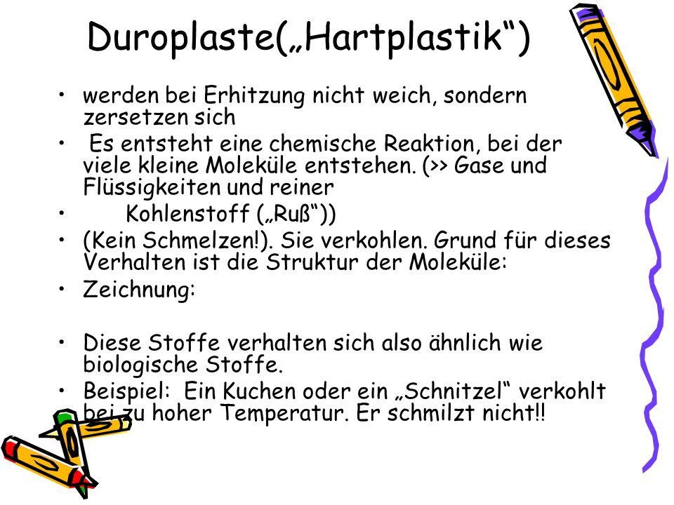"Duroplaste(""Hartplastik )"