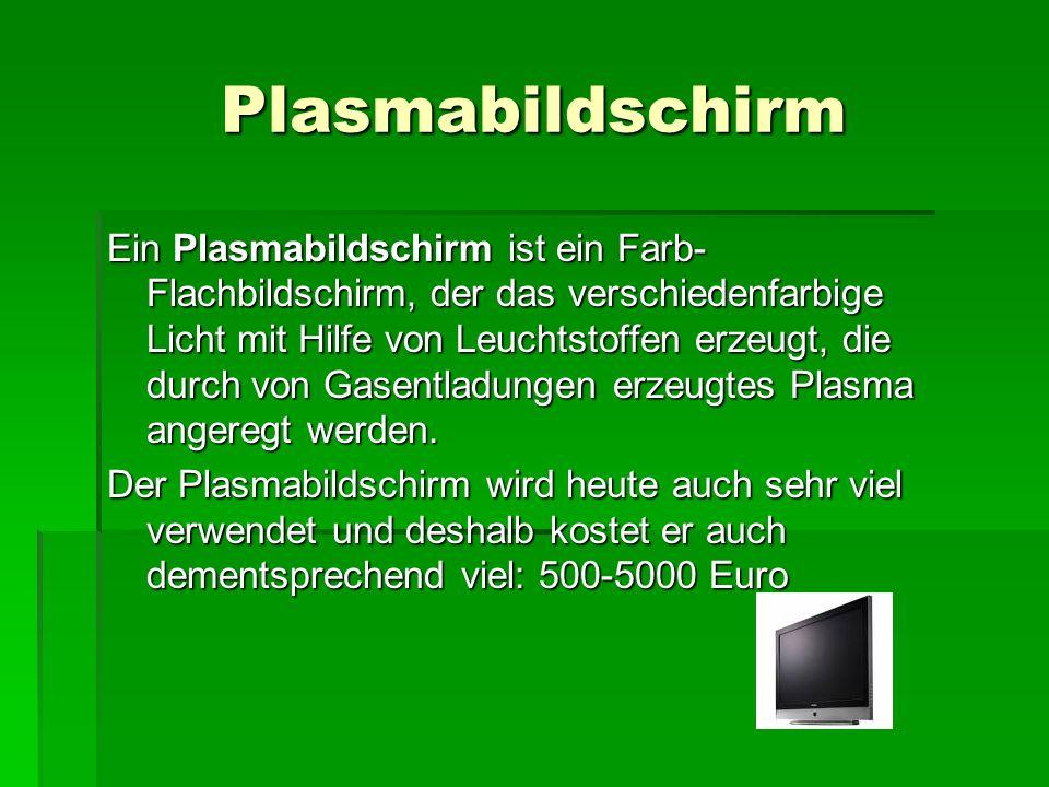 Plasmabildschirm
