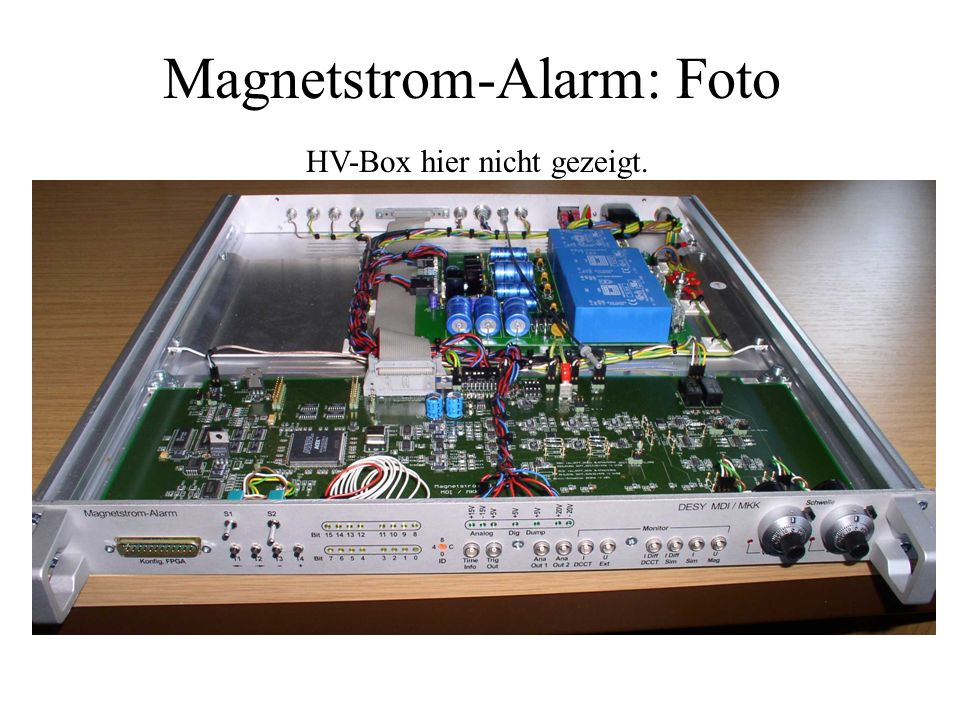 Magnetstrom-Alarm: Foto
