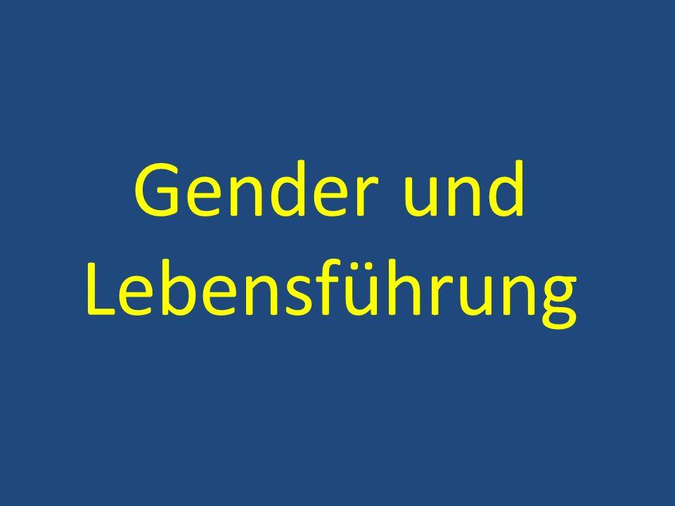 Gender und Lebensführung