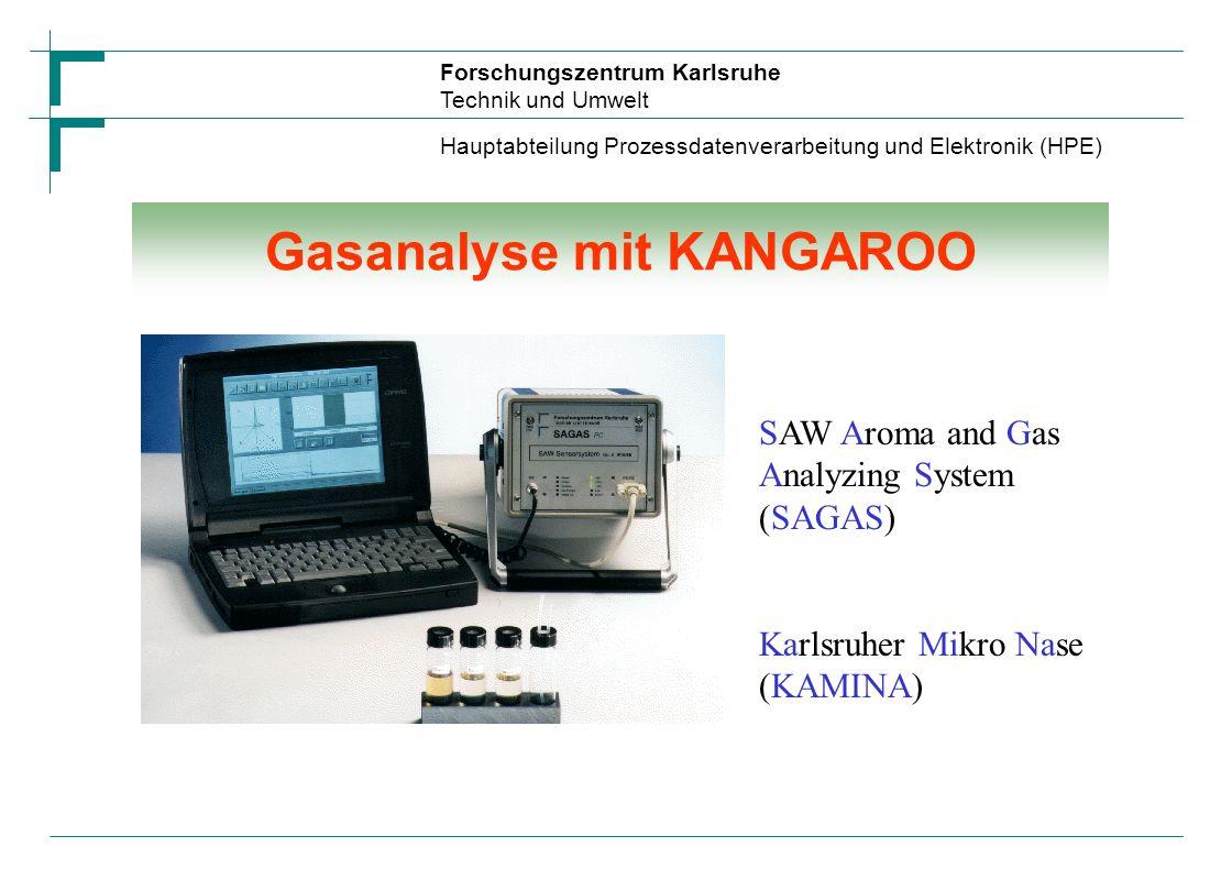 Gasanalyse mit KANGAROO