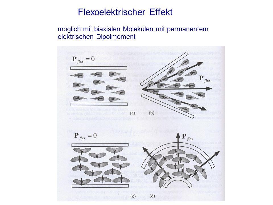 Flexoelektrischer Effekt