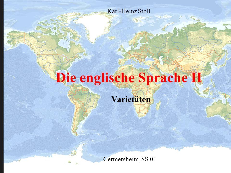 Die englische Sprache II