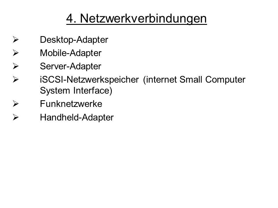 4. Netzwerkverbindungen