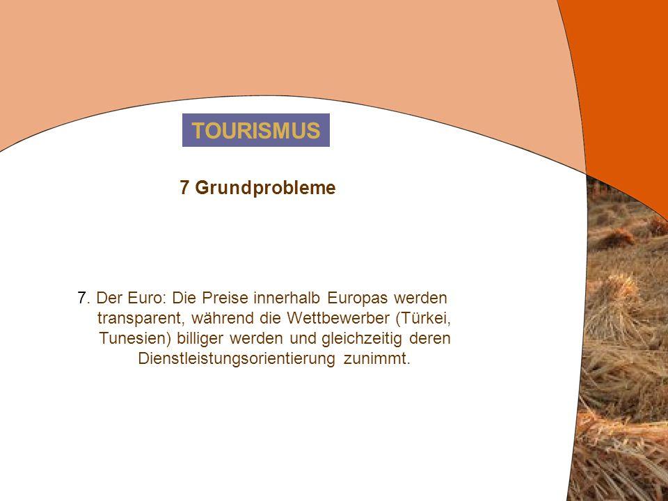 TOURISMUS 7 Grundprobleme