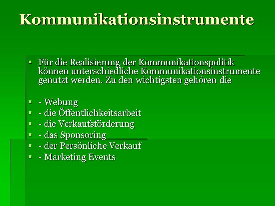 Kommunikationsinstrumente