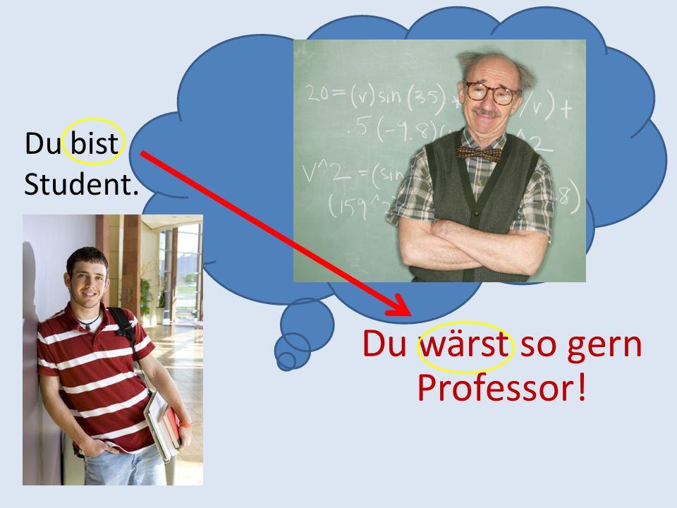 Du wärst so gern Professor!