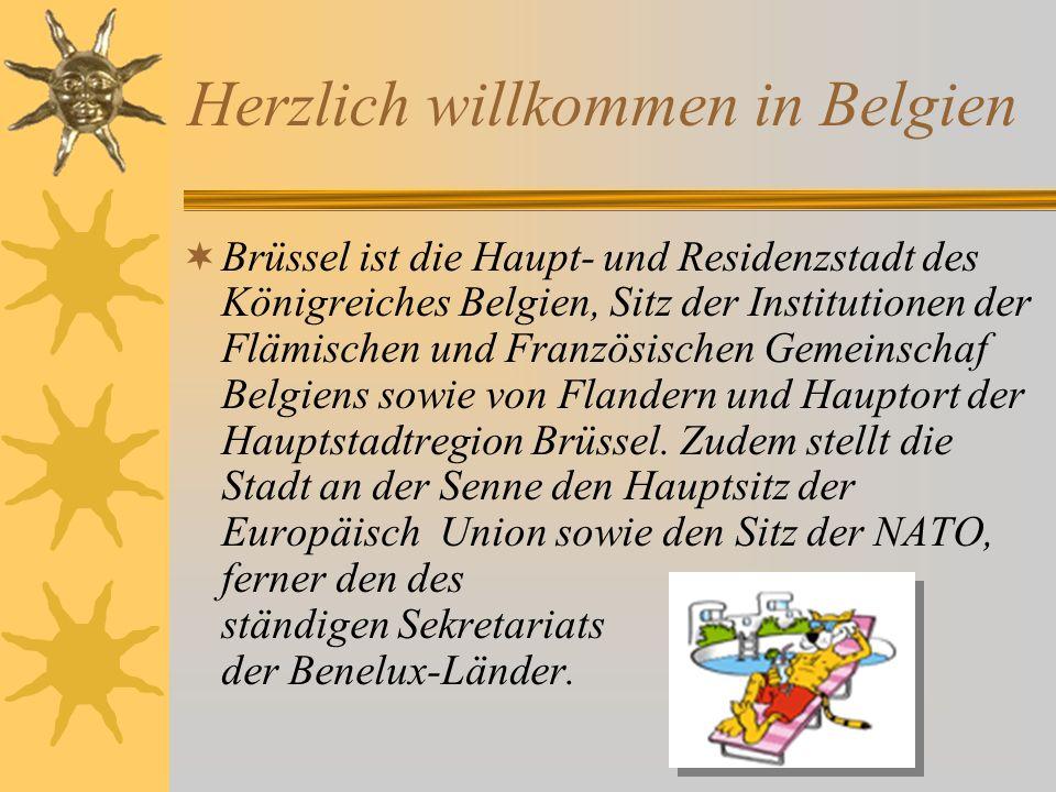 Herzlich willkommen in Belgien