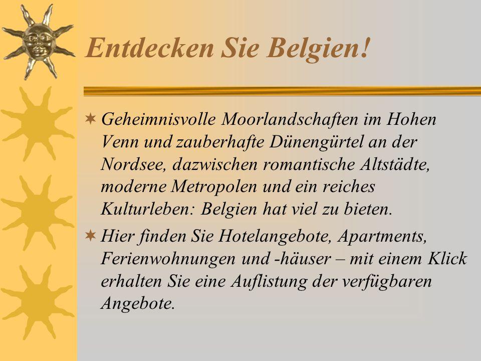 Entdecken Sie Belgien!
