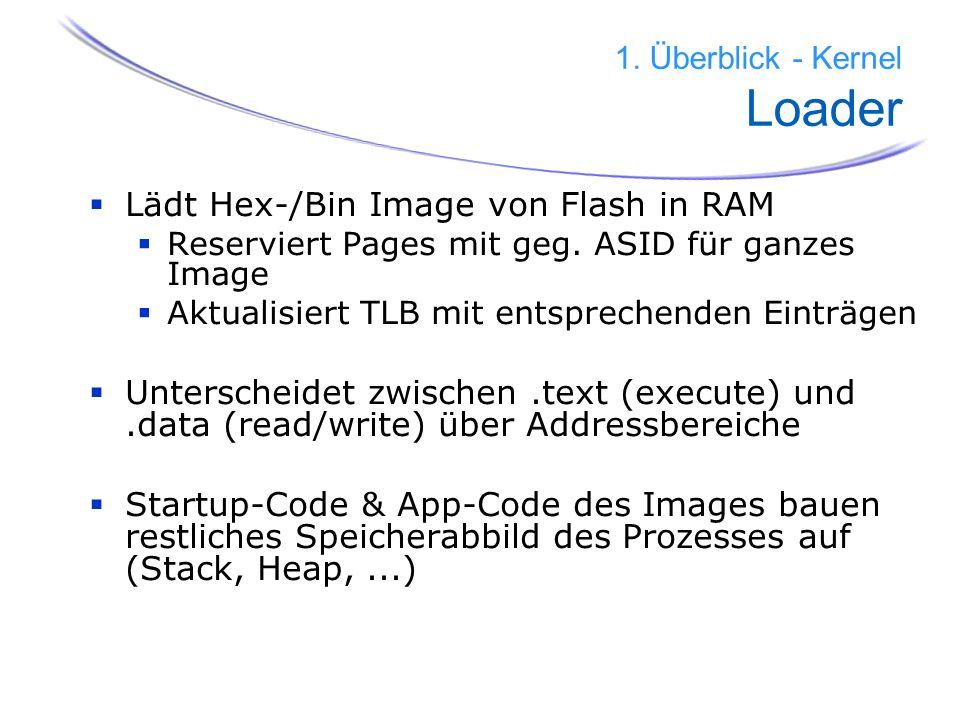 1. Überblick - Kernel Loader