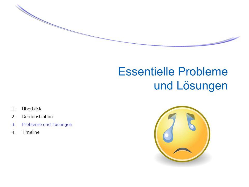 Essentielle Probleme und Lösungen
