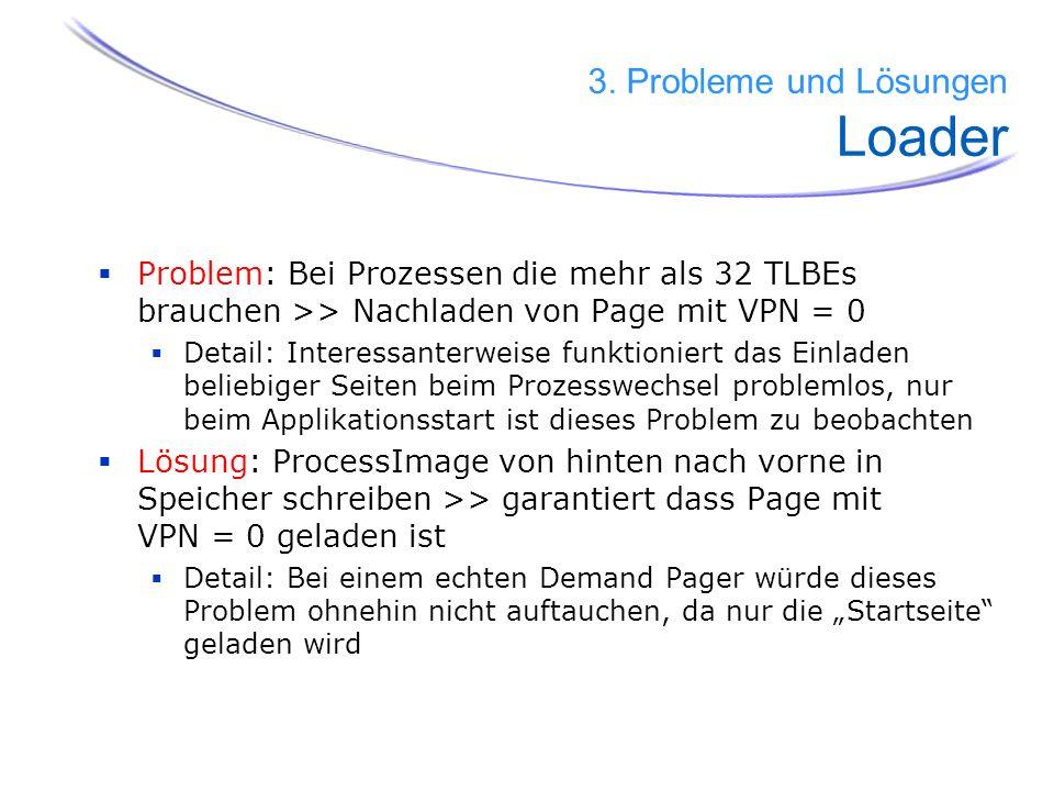 3. Probleme und Lösungen Loader
