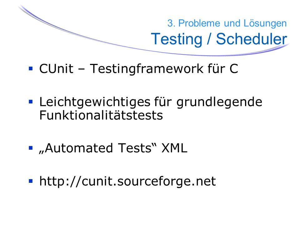 CUnit – Testingframework für C