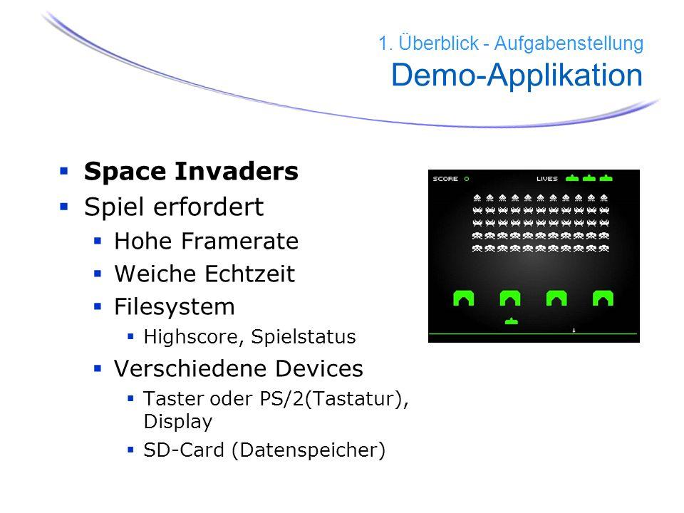 1. Überblick - Aufgabenstellung Demo-Applikation