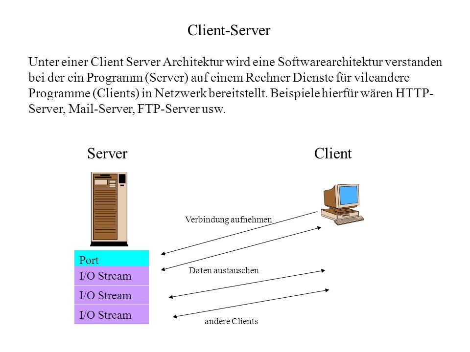 Client-Server Server Client