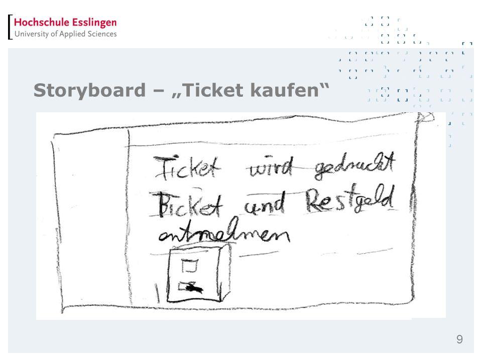 """Storyboard – """"Ticket kaufen"""