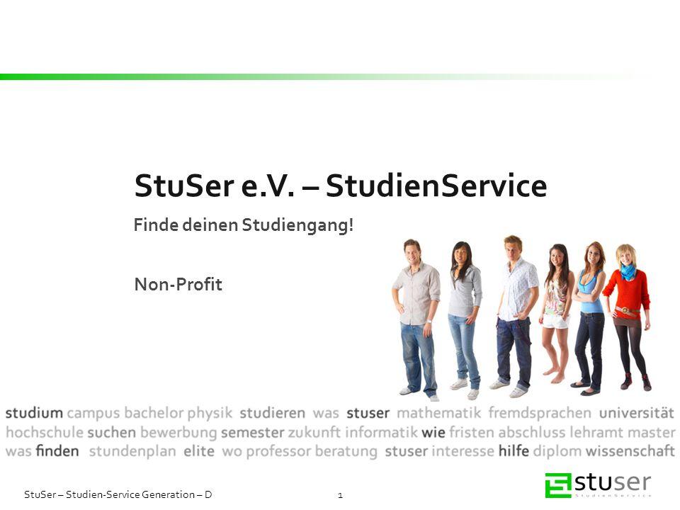 StuSer e.V. – StudienService
