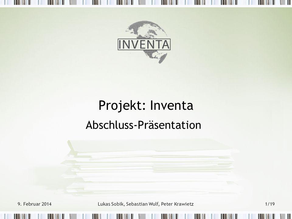 Abschluss-Präsentation
