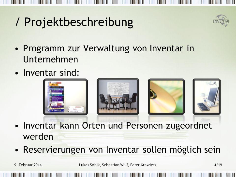 / Projektbeschreibung