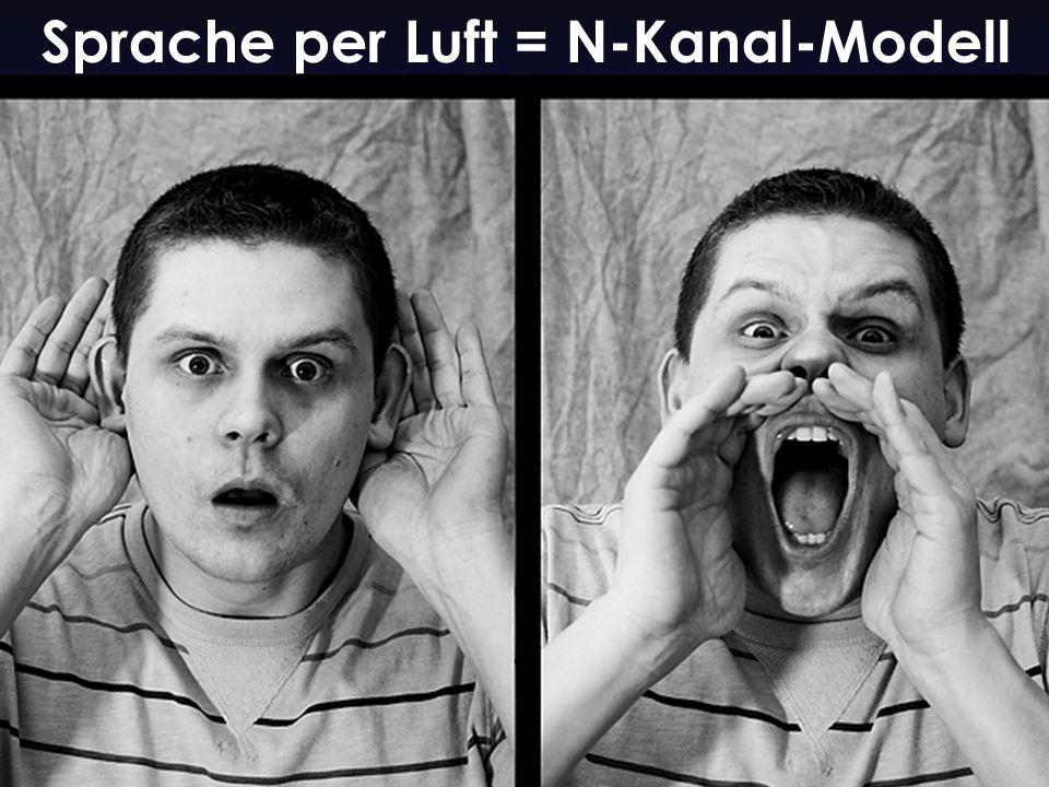 Sprache per Luft = N-Kanal-Modell