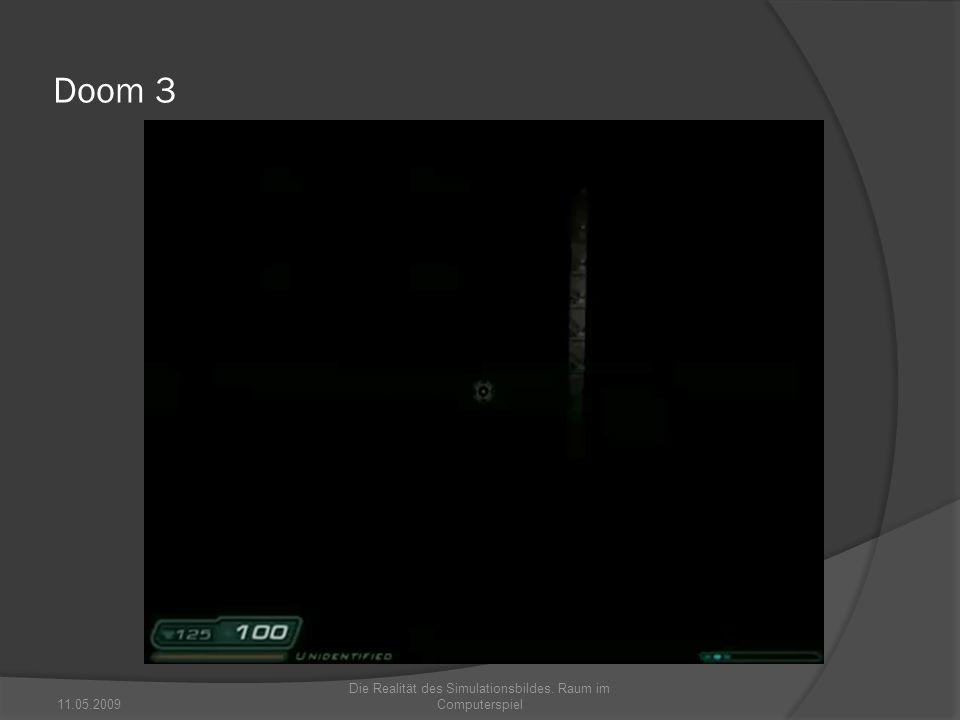 Die Realität des Simulationsbildes. Raum im Computerspiel