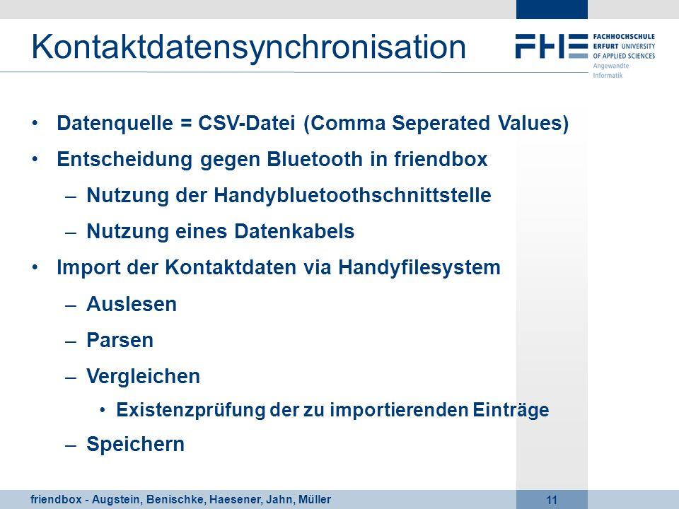 Kontaktdatensynchronisation
