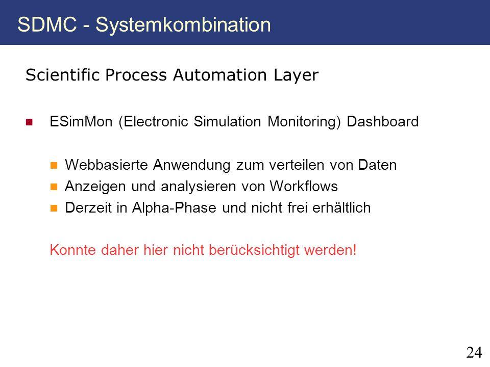 SDMC - Systemkombination