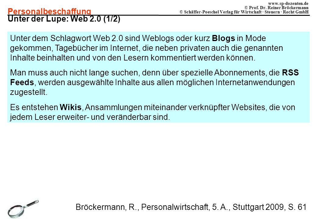 Unter der Lupe: Web 2.0 (1/2)