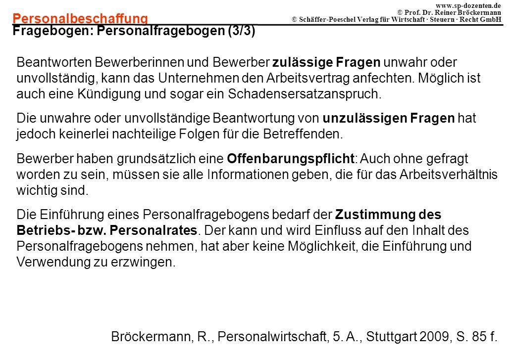 Fragebogen: Personalfragebogen (3/3)