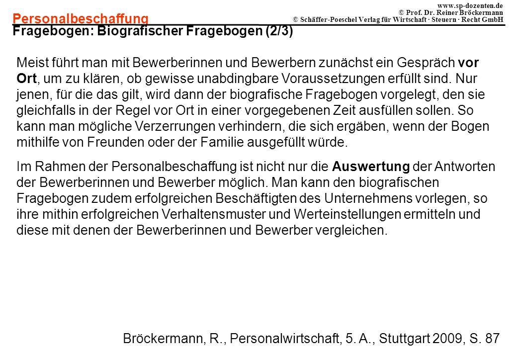 Fragebogen: Biografischer Fragebogen (2/3)