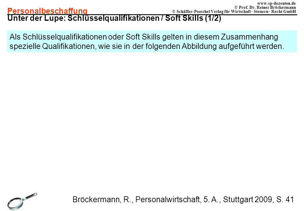 Unter der Lupe: Schlüsselqualifikationen / Soft Skills (1/2)