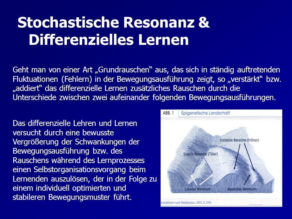 Stochastische Resonanz & Differenzielles Lernen