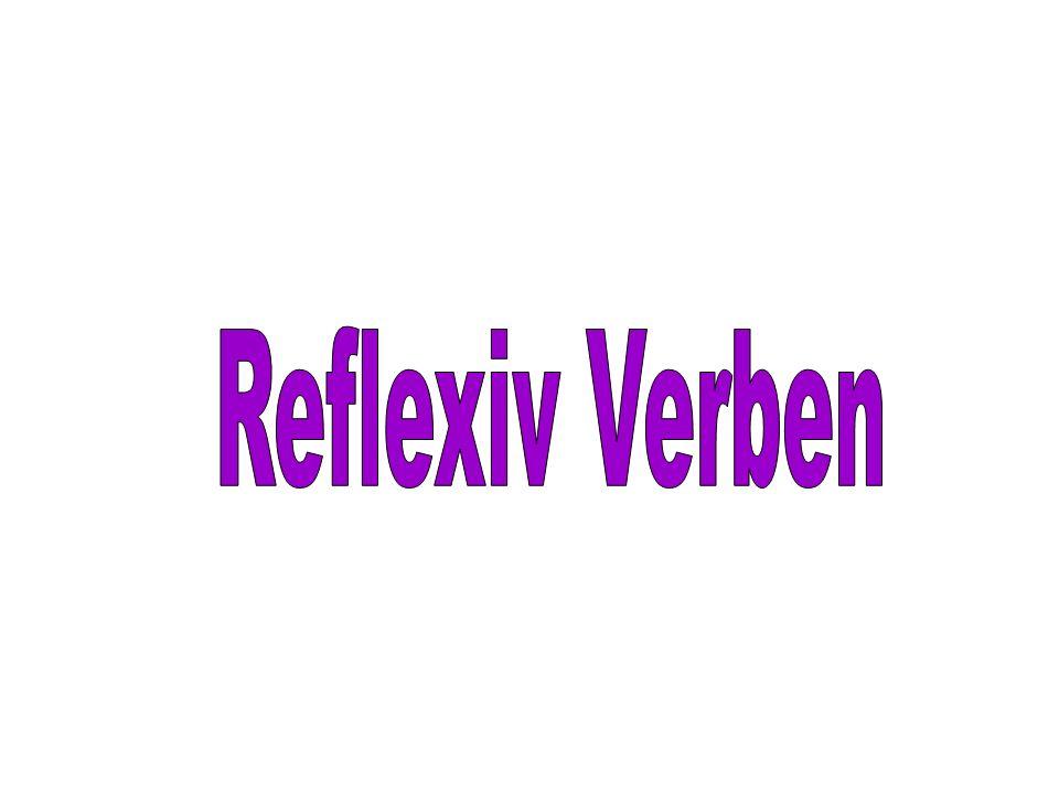 Reflexiv Verben